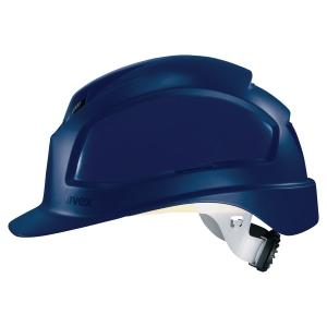 Schutzhelm Uvex 9772, Pheos B-WR, aus Kunststoff, Einstellbereich 52-61 cm, blau