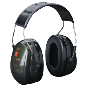 3M Peltor Optime II earmuff 31 dB yellow