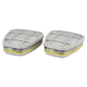 3M 6057 ABE1 Filter gegen Gase und Dämpfe, 8 Stück pro Packung