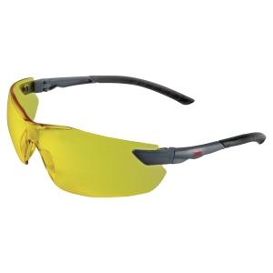 Schutzbrille 3M 2822, Filtertyp 2C, schwarz, Scheibe gelb