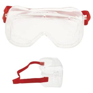 Vollsicht Schutzbrille 3M 4800, Filtertyp 2C, rot, Scheibe farblos
