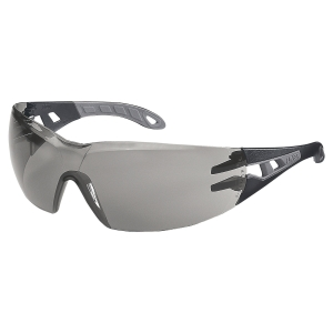Uvex 9192.285 Pheos Standard Safety Spectacles Grey Lens
