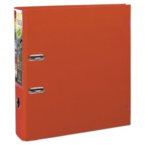 Exacompta Prem Touch PP Lever Arch File, 32X30mm, A4 Maxi, 80mm Spine - Red