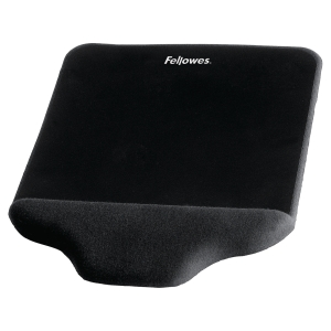 Fellowes Plush Touch mouse pad foam fusion black