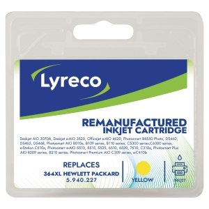 Lyreco compatible HP CB325EE inkjet cartridge nr.364XL yellow [750 pages]