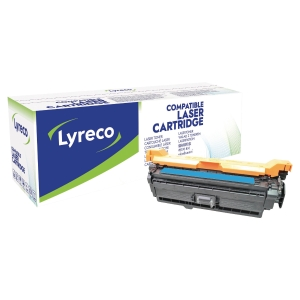 Lasertoner Lyreco CE401A kompatibel HP cyan