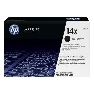 Cartouche laser HP cf214X noire haute capacité