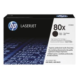 Cart. de toner HP CF280X pour LaserJet Pro 400, noir