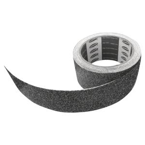 RUBAN ANTIDERAPANT PVC 5 CM X 5 M NOIR
