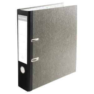 Exacompta Prem Touch Lever Arch File, 32X30cm, 80mm Spine  Black