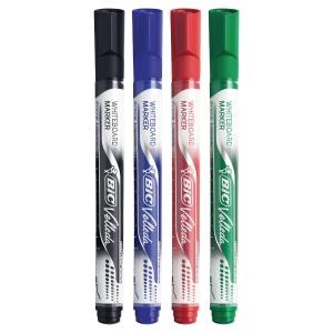 Whiteboardpenna BIC velleda 4 st/fp utv färger