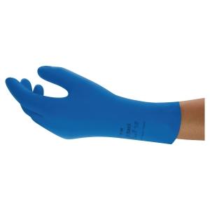 Rękawice gospodarcze ANSELL VersaTouch® 87-195, rozm. 6,5 - 7, niebieskie, para