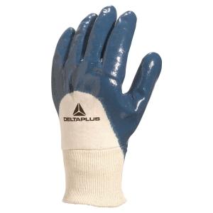Rękawice powleczone nitrylem DELTA PLUS NI150, rozmiar 9, 12 par