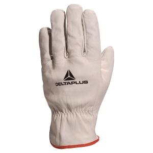Paire de gants Deltaplus FBN49 fleur de bovin gris taille 10