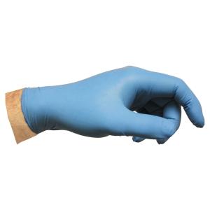 Engangshanske nitril Ansell Versatouch 92-200 blå str. 7, eske á 100 stk