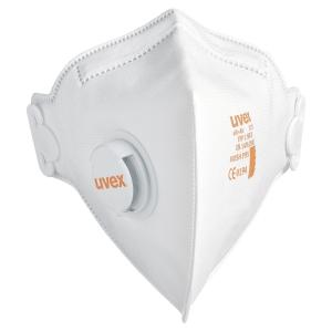 Respiratore a piega verticale Uvex Silv-Air C 3210 FFP2 con valvola - conf. 15