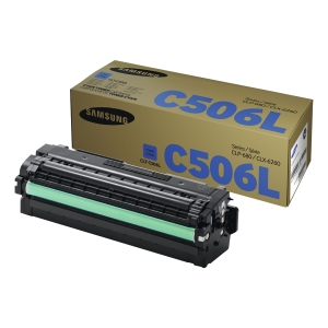 Samsung CLT-C506L tonercartridge blauw [3.500 pag]