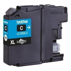 Brother LC-125XL inktcartridge blauw high capacity [1.200 pagina s]