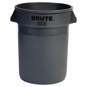 Contentor RUBBERMAID Brute® redondo 121 litros em cinza