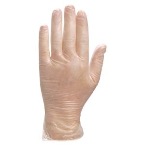 Boite de 100 gants Deltaplus Venitactyl 1371 vinyle poudrés taille 8/9