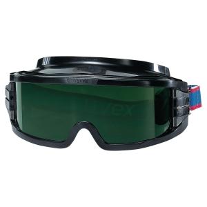 UVEX ULTRAVISION Zváračské bezpečnostné okuliare odtieň 5, čierne