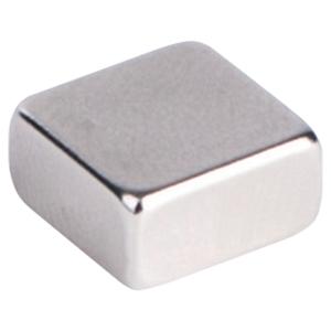Magnesy kwadratowy PAVO 1 x 1 cm, szary, opakowanie 6 sztuk