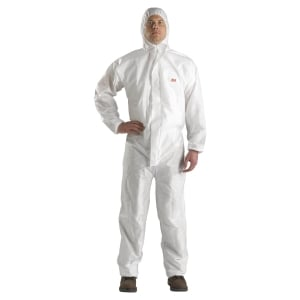 3M 4520 Protective Coverall Category 3 - size XL - white