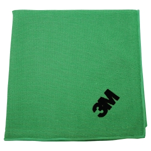 PAQUET DE 10 CHIFFONS MICROFIBRES SCOTCH BRITE 2012 COLORIS VERT