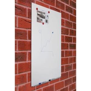 Magnetická tabuľa Rocada Skin, 75x115cm, biela