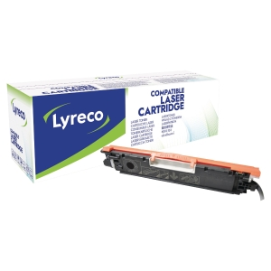 Cartouche laser remanufacturée Lyreco pour HP clj cp1025 noir ce310