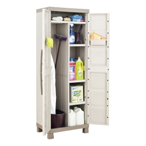CEP EXCELLENCE CUPBOARD 2 DOORS GREY