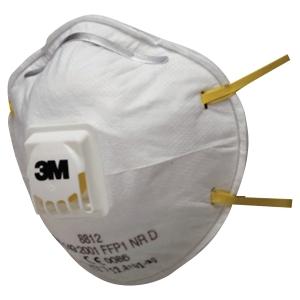 Filtrerande halvmask 3M 8812 FFP1, 10 st/fp