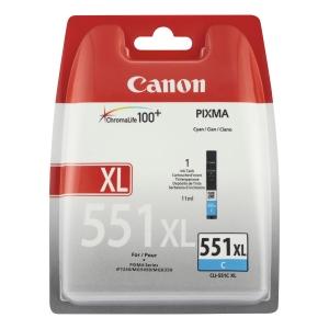 Canon CLI-551C XL Inkjet Cartridge Cyan