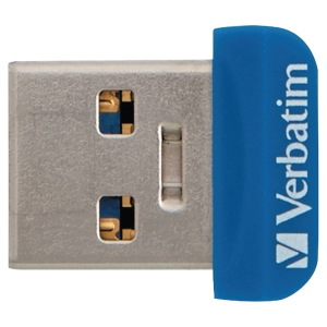 Speicher Stick Nano Verbatim, USB 3.0, 32 GB, schwarz