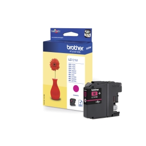 Blekkpatron Brother LC121M 300P magenta