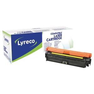 Lasertoner Lyreco kompatibel HP CE342A lj gul