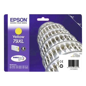 Epson 79XL (T79044010) inkt cartridge, geel, hoge capaciteit