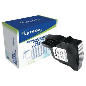 Cartouche remanufacturée Lyreco pour Néopost IJ25 TPMAC/IJ10 7200251L bleue