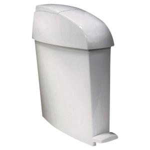 Rubbermaid sanitaire vuilnisbak, 12 l, wit