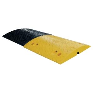 Fahrbahnschwelle Viso FAST60NJ, 500x430x60mm, gelb/schwarz, 2 Stück