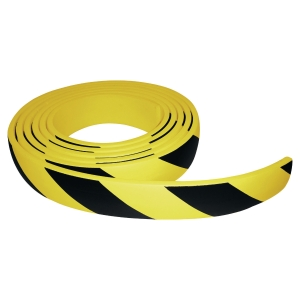 PROTECTION PLATE ADHESIVE VISO 5M JAUNE/NOIR