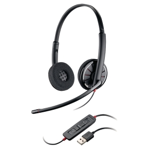 Plantronics C320 PC headset met snoer - binauraal