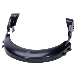 PORTE VISIERE DELTA PLUS VISOR HOLDER ADAPTABLE SUR CASQUES DE CHANTIER  NOIR