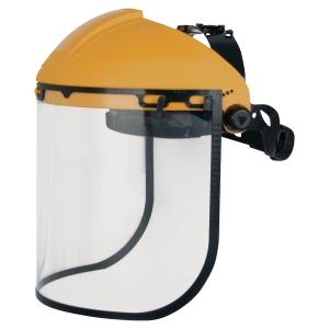 DELTAPLUS BALBI2 Ochranný štít, žltá/čierna farba