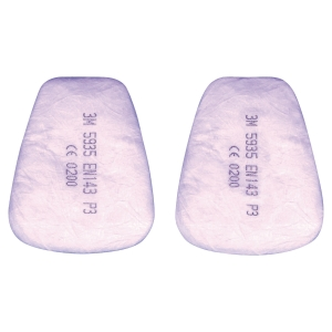 3M 5935 P3 PARTICULATE FILTERS PACK OF 20