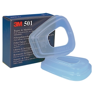 3M 501 filter retainers - pack of 2