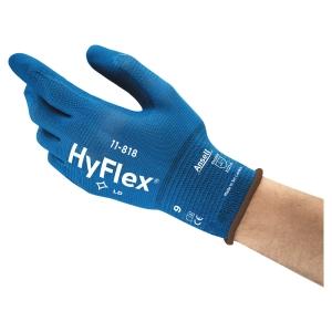 Ansell 11-818 hyflex työkäsine no. 9, myyntierä 1 kpl = 1 pari