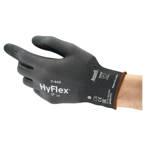 Ansell Hyflex 11-840 Cut Protection Level 2 Glove Size 10 (Pair)