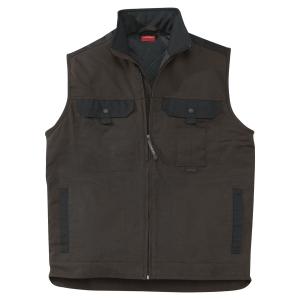 Lafont Work Attitude bodywarmer bruin/zwart - maat 5