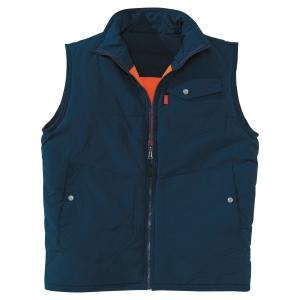 Lafont XPRS omkeerbare bodywarmer blauw/oranje XXXL